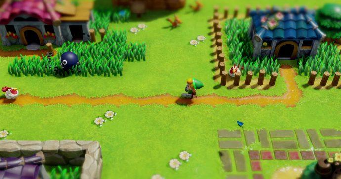 The Legend Of Zelda: Link's Awakening, un ottimo remake del gioco del '93 con musiche poetiche ed una grafica molto particolare