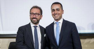 """M5s, ministro Bonafede eletto per acclamazione nuovo capo delegazione al governo: """"Ringrazio Di Maio, sarò la voce del Movimento"""""""