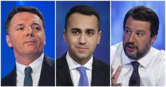 Salvini, Renzi, Di Maio: non aspettiamoci più nulla dalla generazione dei 30-40enni