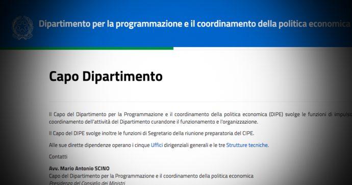 Dipe, la riconferma di Mario Scino alla programmazione economica e gli imbarazzi dentro il M5s
