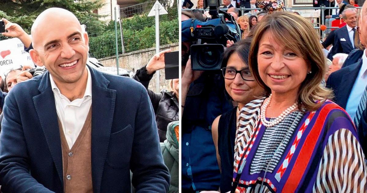 Umbria: la Lega frena, Bianconi recupera