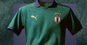 Italia-Grecia, la Nazionale in campo con una maglia verde. Ma non è la prima volta che gli azzurri cambiano colore del kit di gara