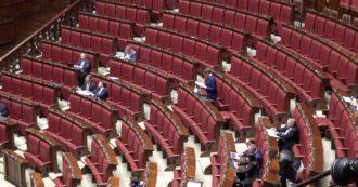 Taglio parlamentari, l'Aula è quasi deserta per l'ultima discussione. Una trentina i presenti, manca tutto il centrodestra. Ma Fi voterà sì