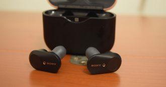 Sony WF-1000XM3, ottima la prova degli auricolari true wireless con noise canceling