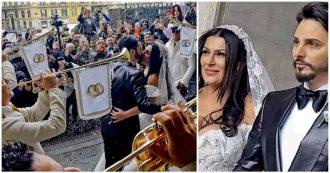 Napoli, matrimonio tra il neomelodico Tony Colombo e Tina Rispoli: indagato il fratello del sindaco De Magistris insieme ad altri 8