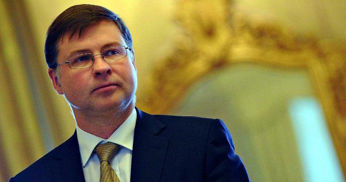 """Manovra, vicepresidente della Commissione Ue Dombrovskis avverte l'Italia: """"Chiederemo ulteriori chiarificazioni su Legge di Bilancio"""""""