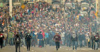 Ecuador, tumulti contro l'austerity di governo. Quando la sinistra tradisce se stessa e il popolo