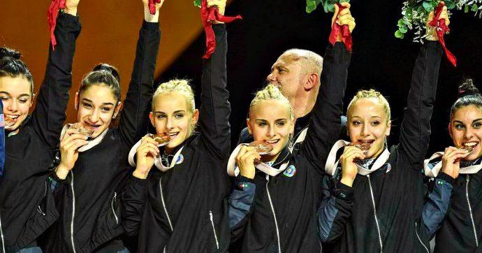 Mondiali di ginnastica, Italia storica medaglia di bronzo dopo gli Usa (oro) e Russia (argento)
