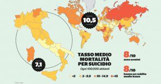 Sherlock, l'inchiesta sui suicidi – Italia, il primato in Sardegna: 8 su 10 sono uomini anziani