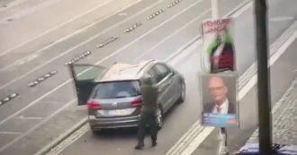 Germania, sui media tedeschi le immagini di Halle: l'assalitore scende dall'auto e apre il fuoco