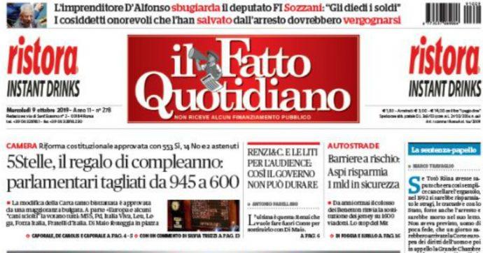 Il Fatto Quotidiano, ad agosto la maggior crescita tra i quotidiani italiani: +18% di copie vendute rispetto a luglio