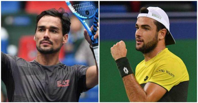 Tennis, Fognini e Berrettini avanti a Shangai: per la seconda volta due italiani ai quarti di un torneo Master 1000. E puntano le Atp Finals