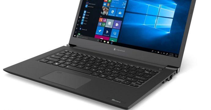 Dynabook Tecra A40-E, il notebook ultraportatile che promette 13,5 ore di autonomia