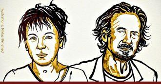 Nobel per la Letteratura, assegnati alla polacca Olga Tokarczuk e all'austriaco Peter Handke