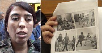 """Siria, le foto della comandante curda in Italia: """"Turchia attacca i civili. Erdogan secondo Califfo"""""""