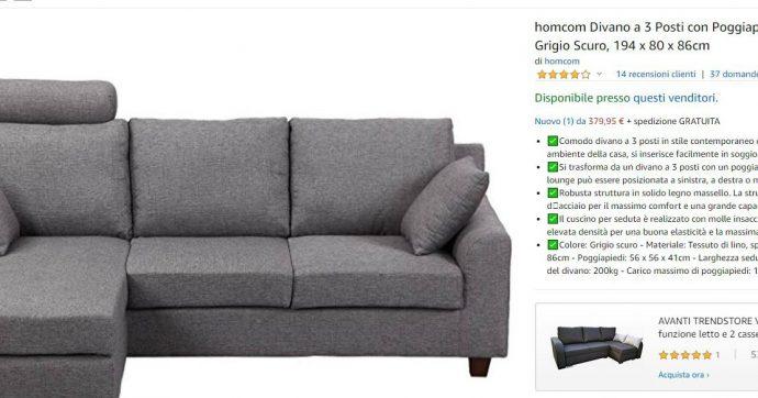 Dà il cellulare alla figlia di due anni per giocare: lei compra un divano su Amazon