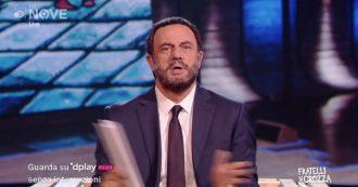 """Russia gate, Crozza-Salvini. """"Se avessi 60 milioni non sarei qui con voi… mi sarei costruito una piscina di nutella"""""""