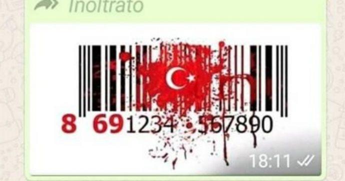 """""""Boicottiamo i prodotti turchi"""": l'appello con il codice a barre rimbalza sui social, ma è una bufala. Ecco perché"""