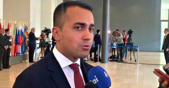 """Siria, Di Maio: """"Blocco export di armi alla Turchia da tutti i Paesi dell'Unione europea. In Italia decreto ministeriale nelle prossime ore"""""""