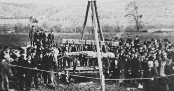 La storia del gigante di Cardiff è una bufala d'altri tempi