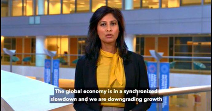 """Crescita, il Fondo monetario taglia le stime mondiali per il 2019: +3%. """"Rallentamento sincronizzato, mai così male dal 2008-2009"""""""