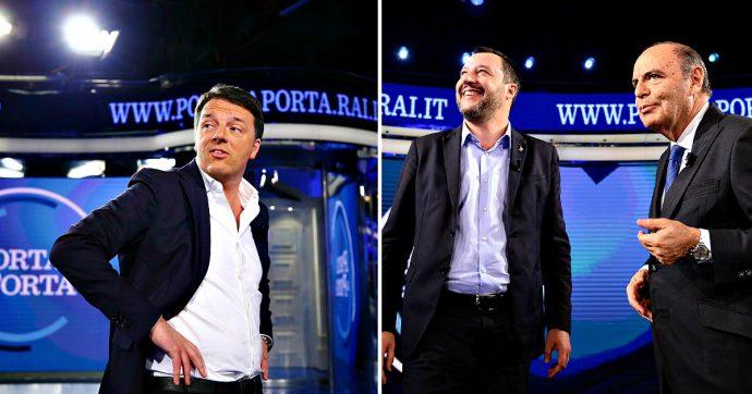 """Confronto tv Salvini-Renzi, sfida di 75 minuti senza regole e con Vespa arbitro. Il duello voluto dai due Matteo per """"oscurare"""" il governo"""