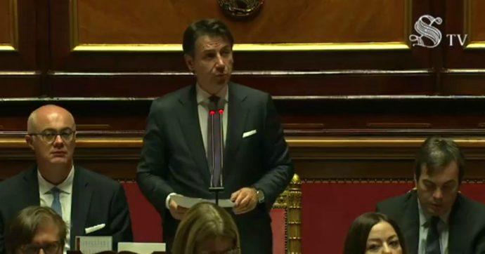 """Siria, Conte in Senato: """"Su Turchia serve decisione risoluta e ferma dell'Ue"""". Rinviato Forum economico Italia-Turchia"""