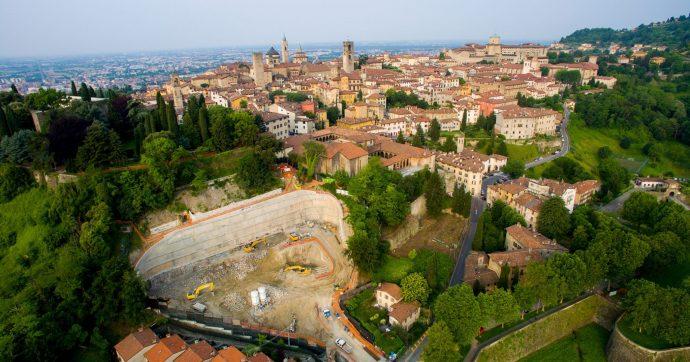 Bergamo, il caso del parcheggio sulle Mura Venete incompleto dopo 11 anni di lavori. Anac: 'Violazioni della società, Comune non efficace'