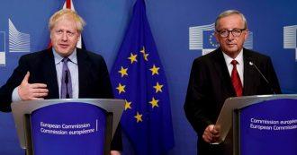 """Brexit, c'è l'intesa Regno Unito-Ue. Johnson: """"Via il backstop, sabato si vota questo deal o no deal"""". No degli unionisti, c'è rischio bocciatura"""