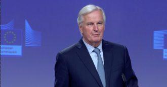 """Brexit, Barnier dopo la fine della negoziazione: """"Accordo trovato, incertezza durata troppo"""""""