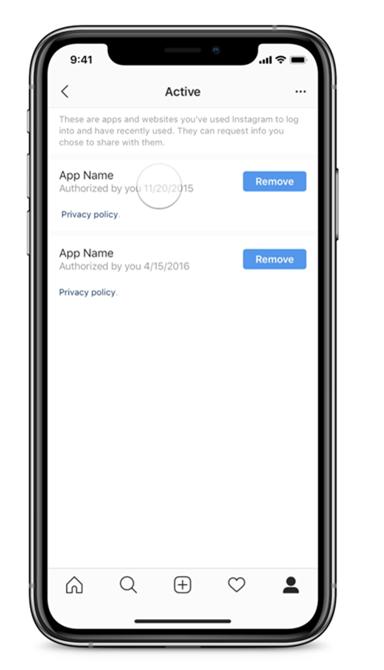 Instagram dà agli utenti maggiore controllo sui dati condivisi dall'app