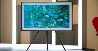 Samsung The Frame e The Serif, le nuove TV per utenti raffinati