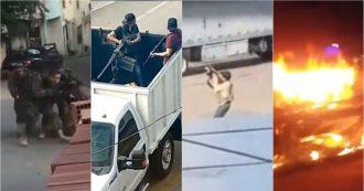 Messico, guerriglia urbana a Culiacan. Narcos contro la polizia per liberare il figlio di El Chapo