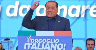 """Centrodestra a Roma, Berlusconi: """"Governo appoggiato dalla quinta sinistra, la magistratura che perseguita gli avversari politici"""""""