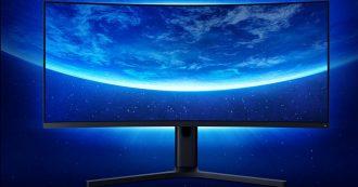 Xiaomi Mi Surface Display è il monitor curvo dedicato agli appassionati di giochi