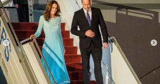 """William e Kate, terrore in volo per i Duchi: """"L'aereo su cui viaggiavano è finito in una tempesta di fulmini"""""""