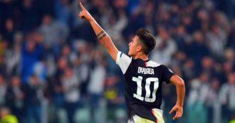 Serie A, Juventus-Milan 1-0: Dybala entra al posto di Ronaldo e decide la gara. I bianconeri restano primi. Si allunga la crisi del Diavolo