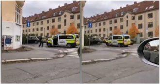 Oslo, ruba ambulanza e si lancia sui pedoni: gli spari e l'intervento della polizia