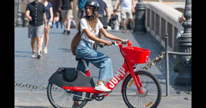 Jump, debutta a Roma il bike-sharing elettrico firmato da Uber