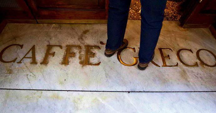 Roma, sfratto rinviato per lo storico Caffè Greco. Ministero alavoro per evitare  chiusura