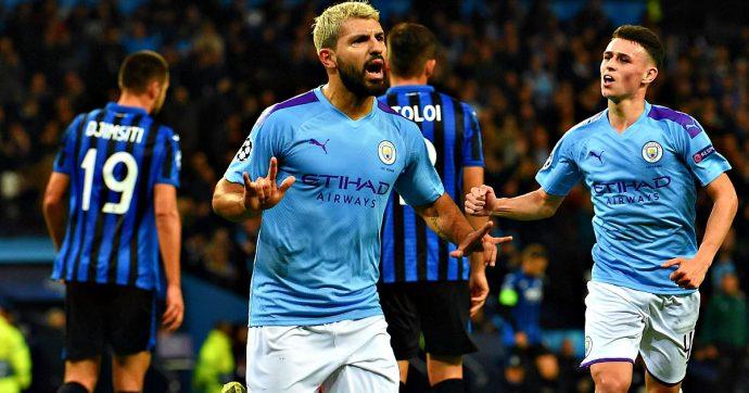 Manchester City-Atalanta 5-1: la Dea dura appena un tempo, poi l'ennesimo crollo in Champions League. Tripletta di Sterling