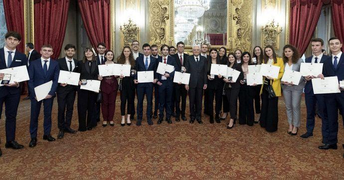 Alfieri del lavoro nominati da Mattarella: le storie di Aurora, Anna e Giuseppe, neanche 20 anni e un futuro tra scienza e impresa