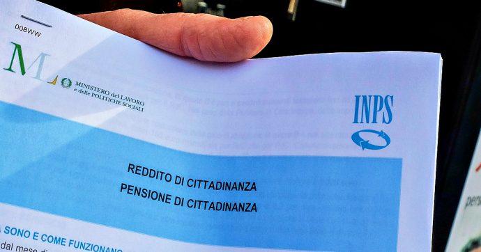 Reddito di cittadinanza, Inps: sono 982mila le domande accolte su 1,5 milioni presentate. Assegno medio mensile di 482,36 euro