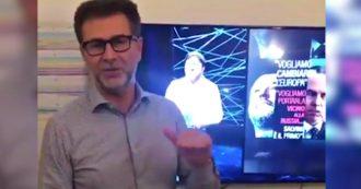"""Fondi Lega, Fabio Fazio: """"Guardate la puntata di Report su Salvini, riguarda tutti. È incredibile che non succeda nulla"""""""