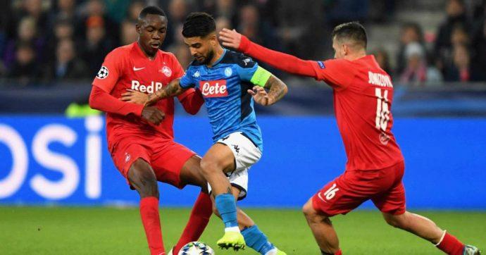 Salisburgo-Napoli 2-3: Insigne entra e risolve i problemi di Ancelotti. Azzurri primi nel girone, qualificazione a un passo