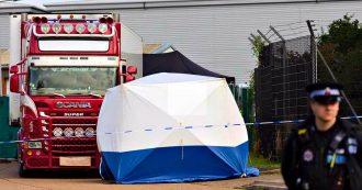 Cadaveri trovati nel camion in Inghilterra, le vittime sono cinesi. Perquisizioni della polizia per cercare di identificare i trafficanti