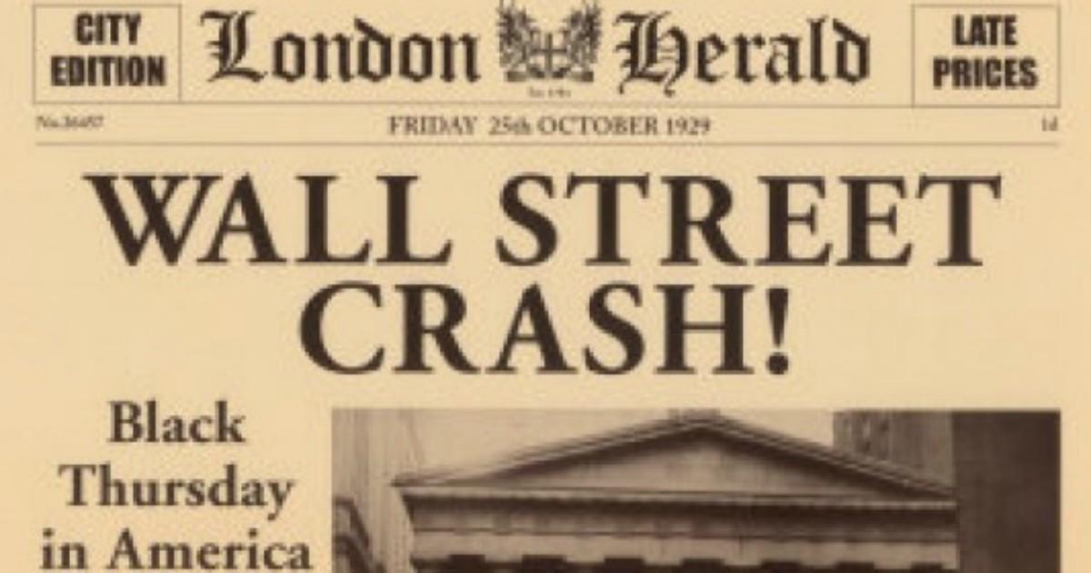 Crollo di Wall Street, 90 anni fa aveva inizio la Grande ...