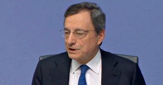 """Bce, Draghi: """"Un mio futuro in politica? Non lo so, chiedetelo a mia moglie"""""""