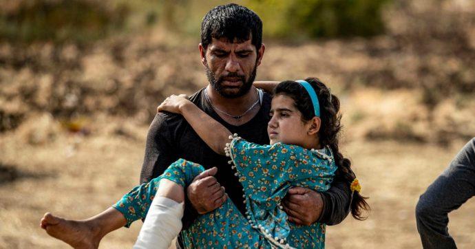 Siria, violata la tregua: scontri tra curdi e filo-turchi, bomba a Tall Abyad e raid russi su Latakia