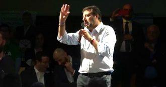 """Elezioni Umbria, Salvini: """"Vinciamo qui, poi in Emilia e Toscana e torniamo al governo. Sarà festa nazionale"""""""